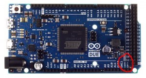 Arduino Due CAN pin